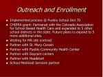 outreach and enrollment