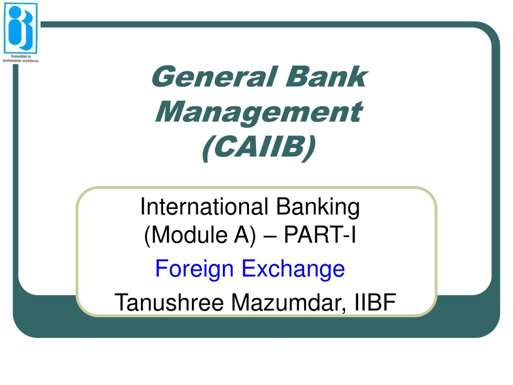 General Bank Management
