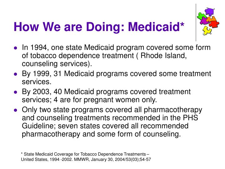 How We are Doing: Medicaid*