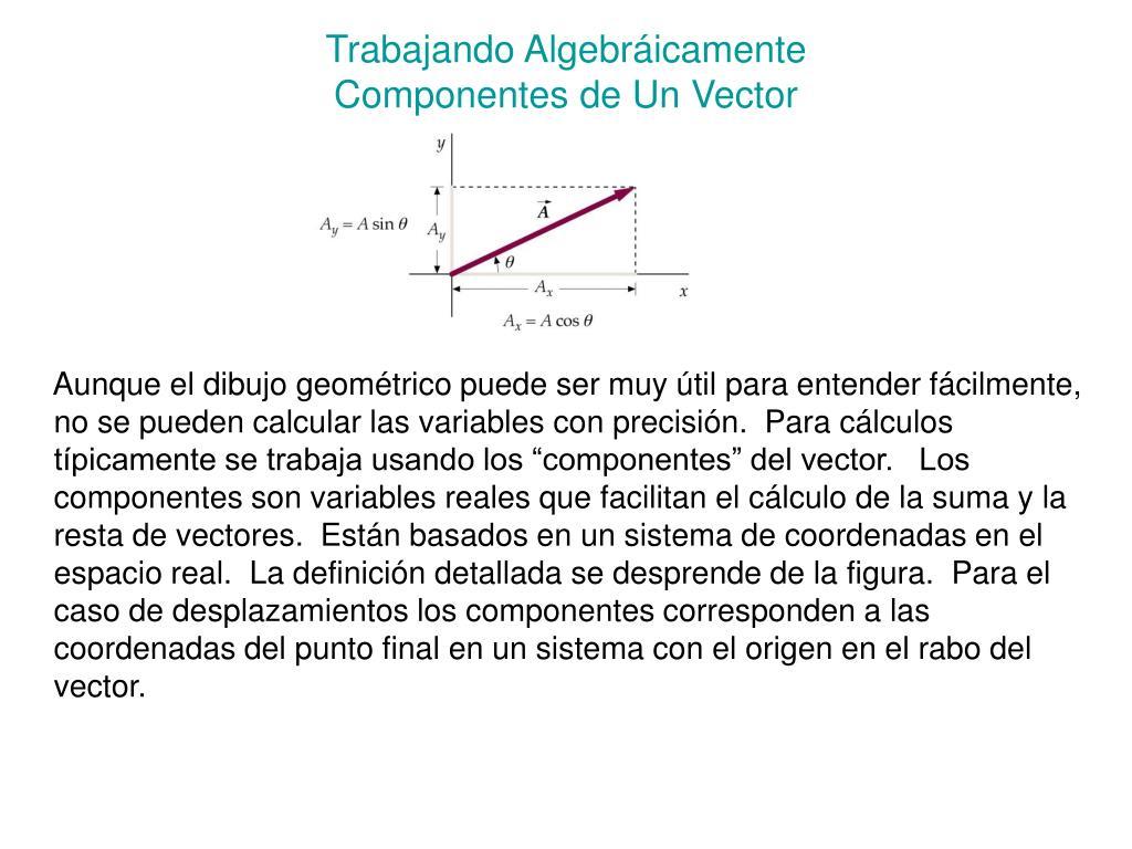 Trabajando Algebráicamente