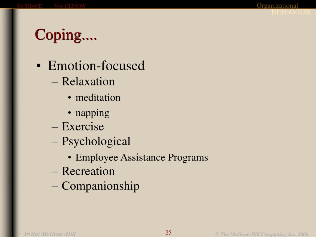 Coping....
