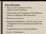 stress research