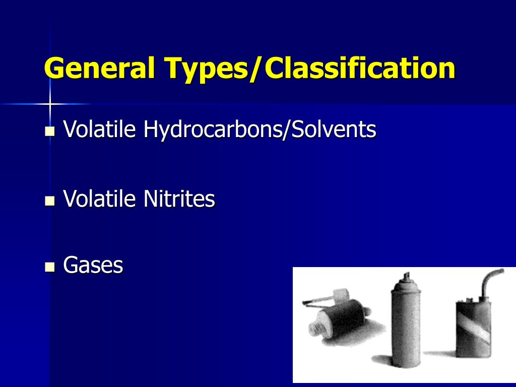 General Types/Classification
