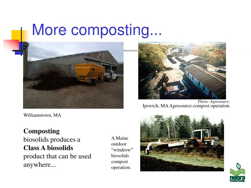 More composting...