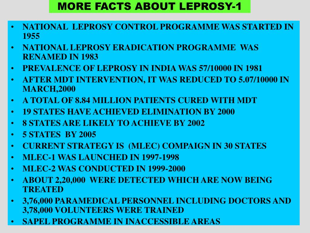 MORE FACTS ABOUT LEPROSY-1