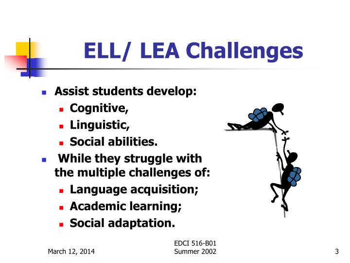 Ell lea challenges