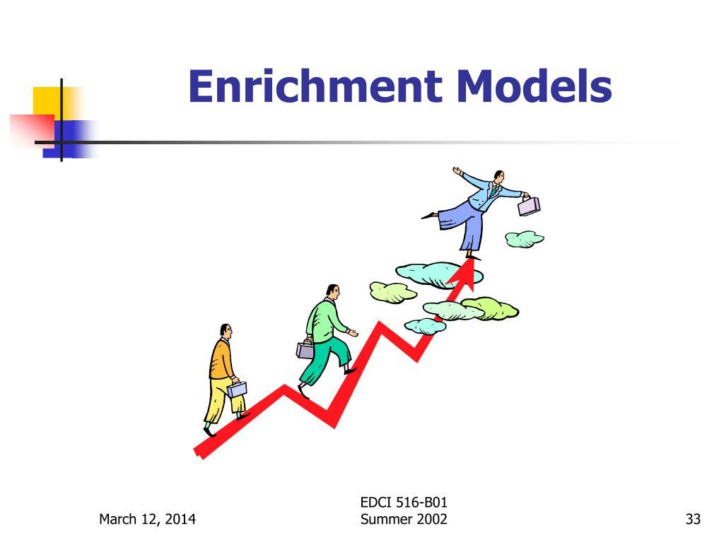 Enrichment Models