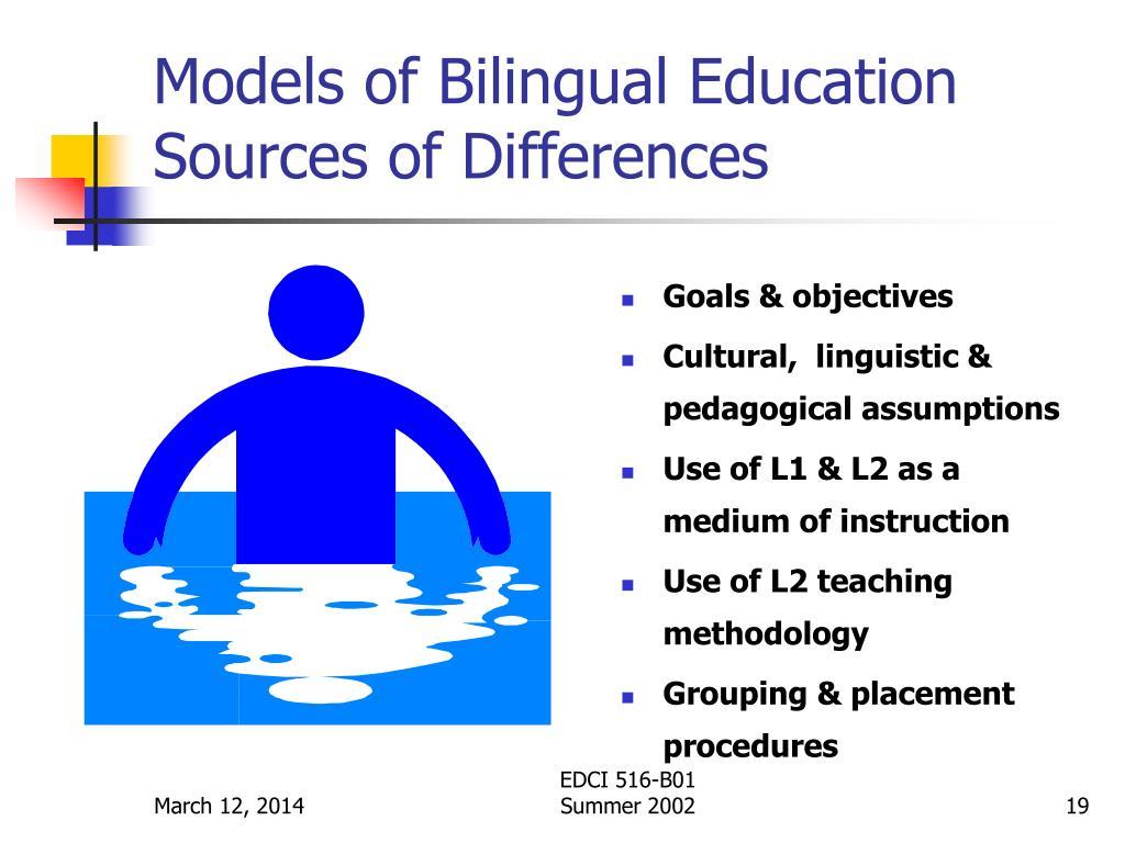 Models of Bilingual Education