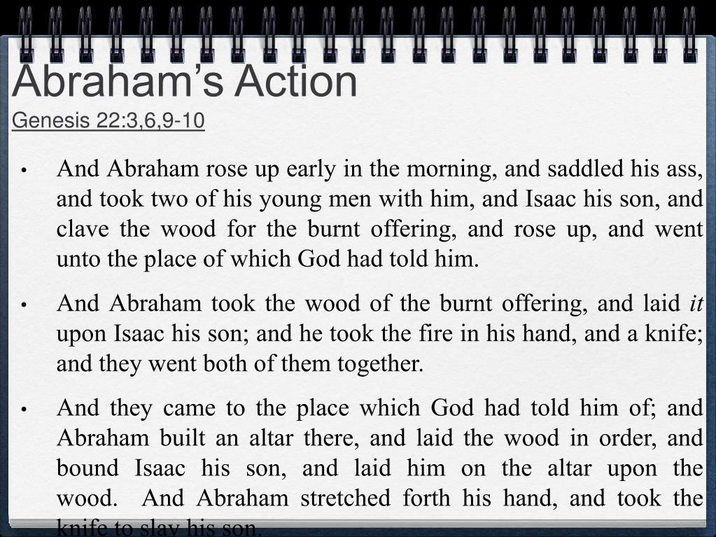 Abraham's Action