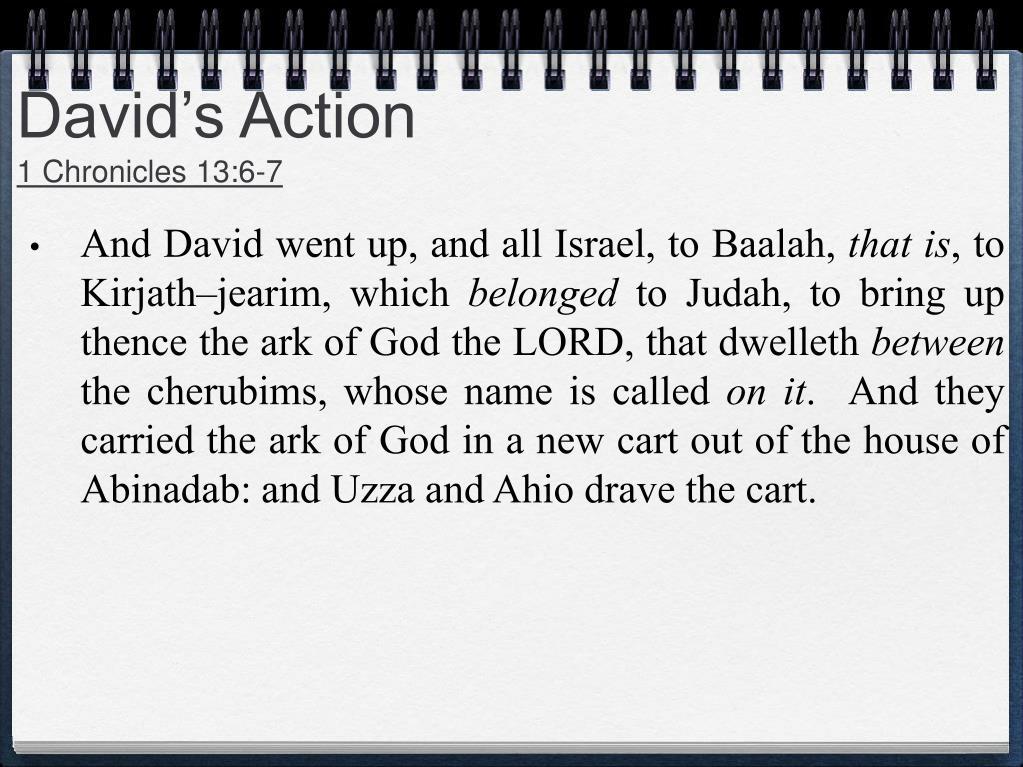 David's Action