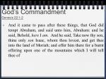 god s commandment genesis 22 1 2