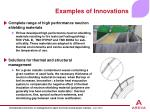 examples of innovations12