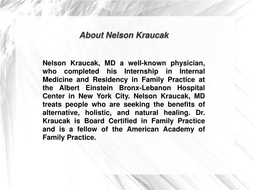 About Nelson Kraucak