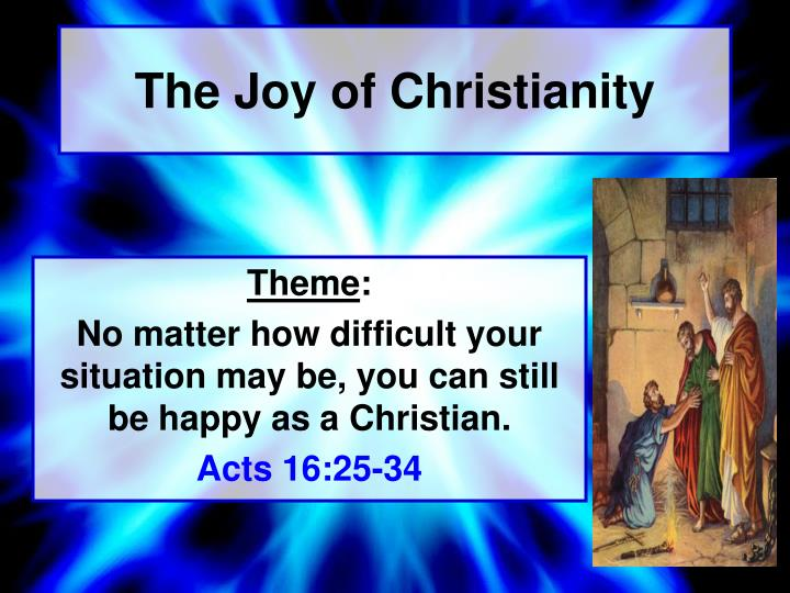 The joy of christianity