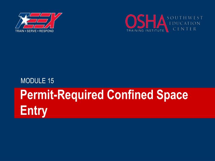 Permit required confined space entry l.jpg