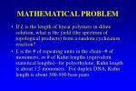 mathematical problem