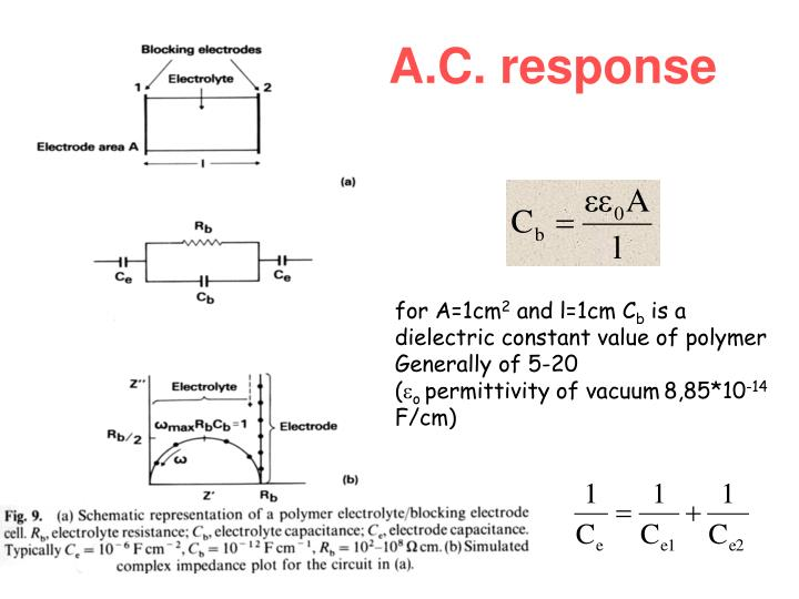 A.C. response