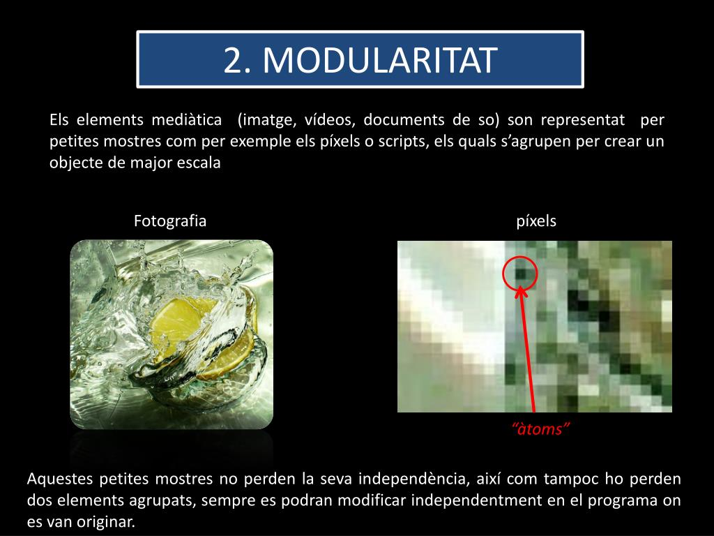 2. MODULARITAT