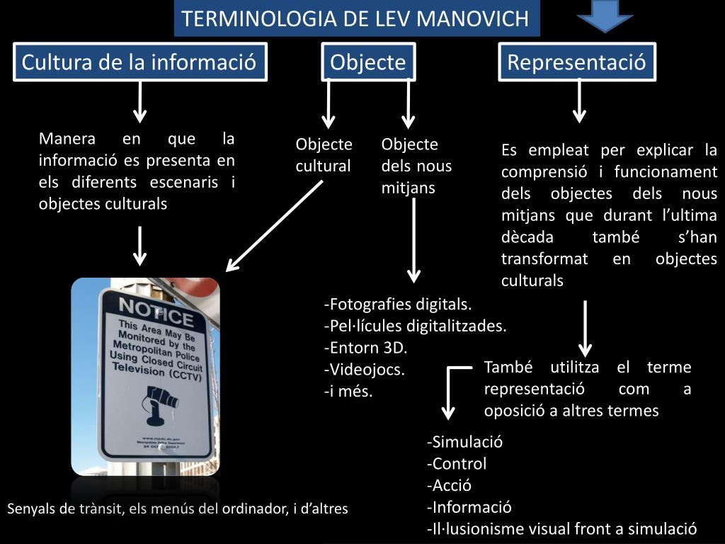TERMINOLOGIA DE LEV MANOVICH