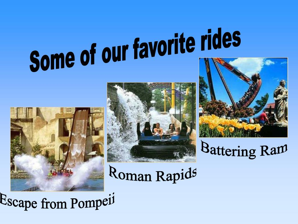 Some of our favorite rides