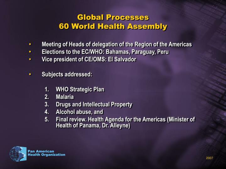 Global Processes