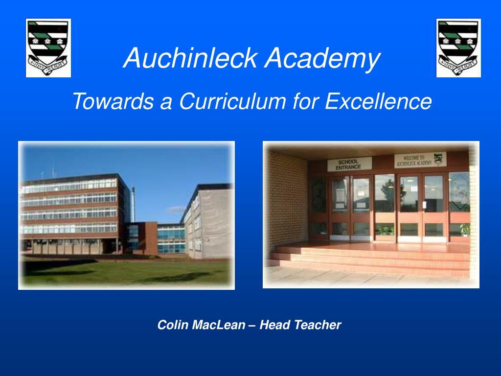 Auchinleck Academy