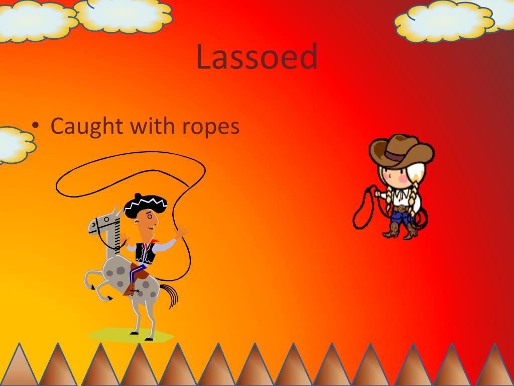 Lassoed