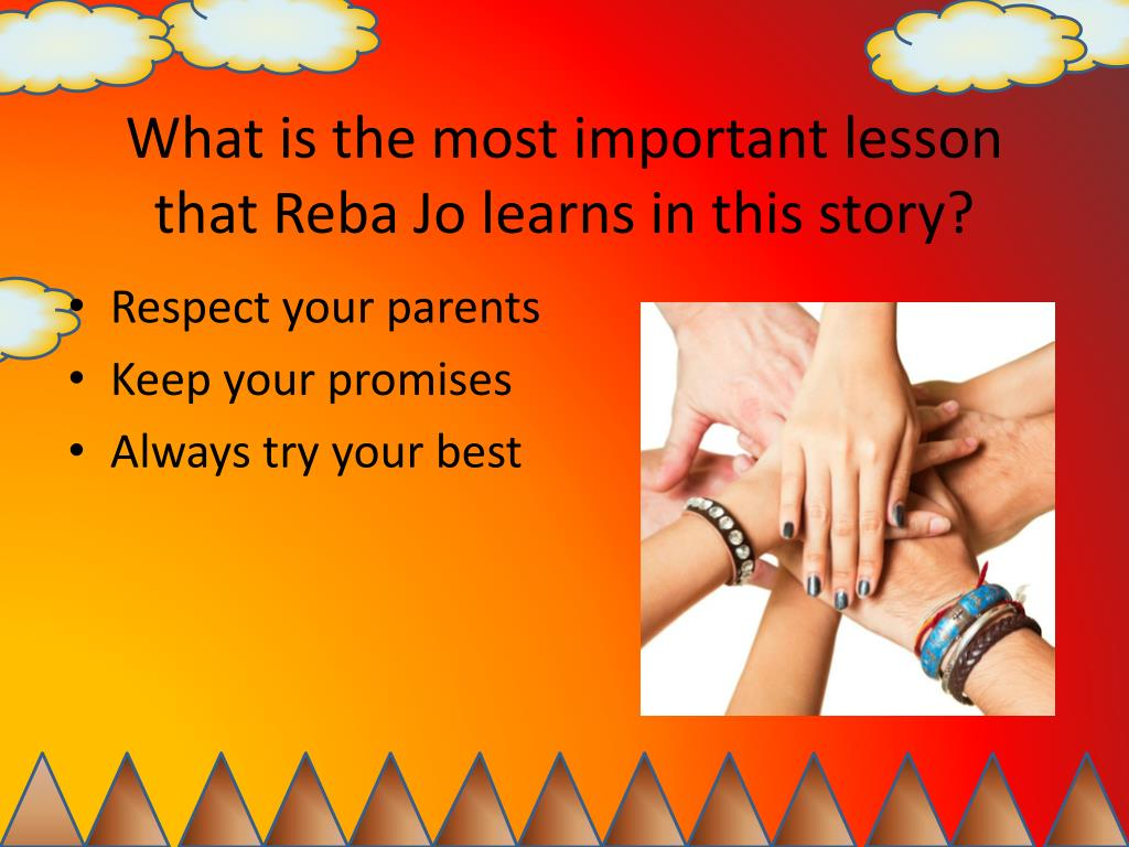 What is the most important lesson that Reba Jo learns in this story?