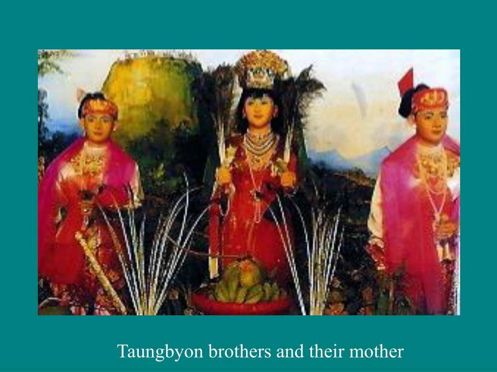 Taungbyon brothers and their mother