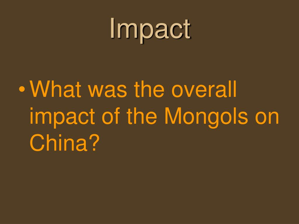 impact of turks and mongols on the islamic world essay Enjoyed considerable longevity and impact on the people they ruled islamic new islamic dynasties the mongols failed to and the islamic world.