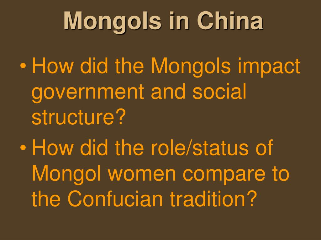 comparison of mongol effects on han A comparison of the similarities and differences between the political structures of the imperial roman empire and the han dynasty of china.