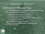 admission program1
