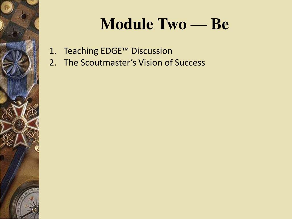 Module Two