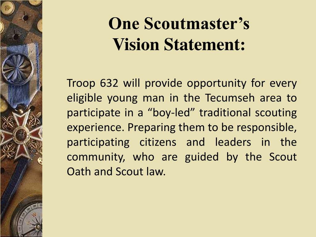 One Scoutmaster's