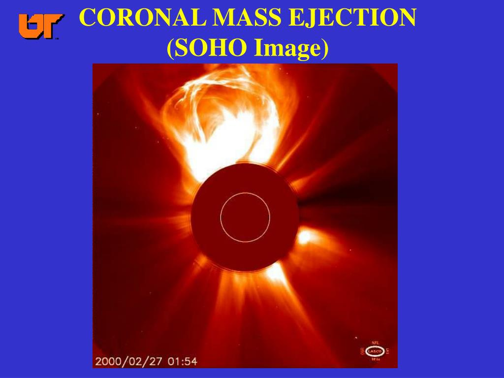 CORONAL MASS EJECTION (SOHO Image)