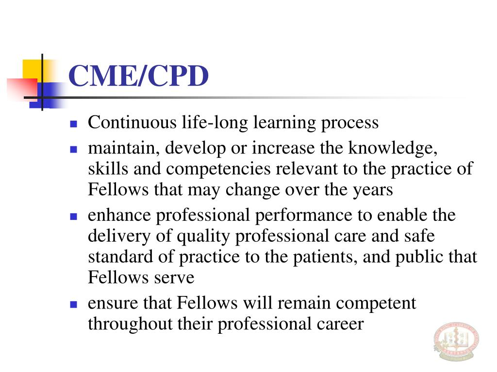 CME/CPD