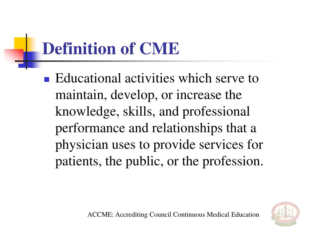 Definition of CME