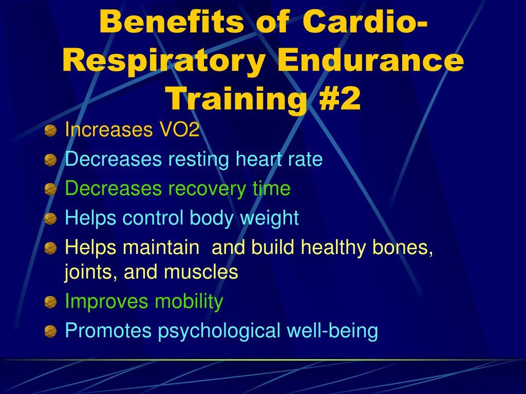 PPT - Cardio-Respiratory Endurance PowerPoint Presentation ...