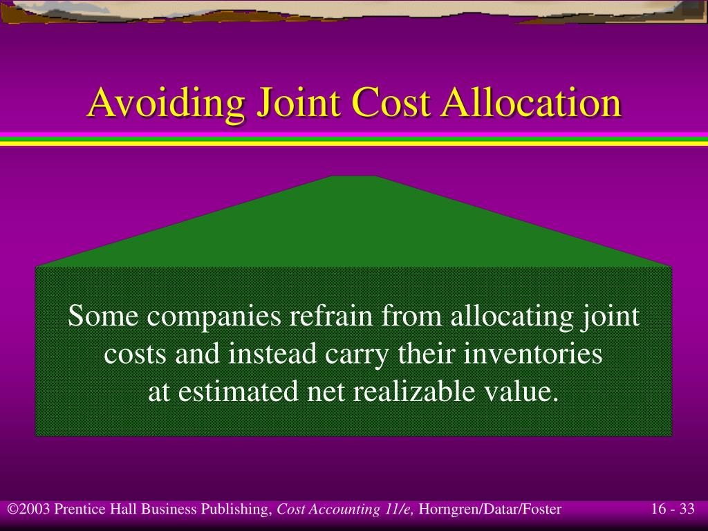 why cost allocation is important Why are cost allocations important consider the apartment you shared with someone that was not related to you, how did you pay for the following.