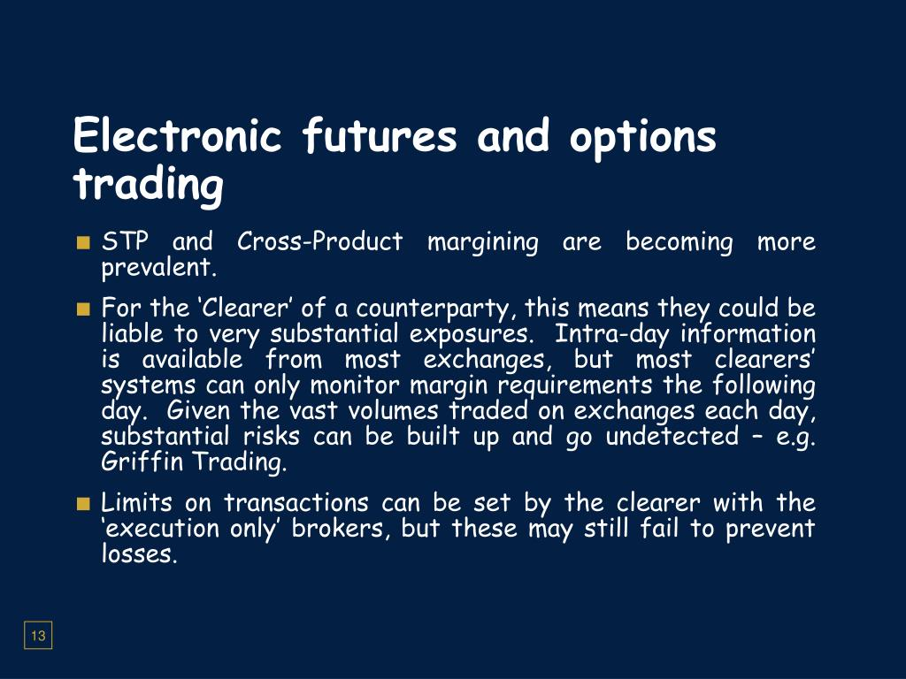 Electronic options trading