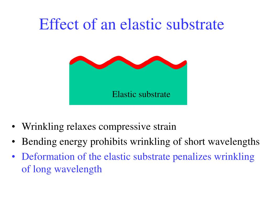 Elastic substrate