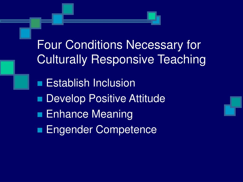 culturally responsive teaching focuses on children receiving a better education This study was situated in a culturally responsive teaching framework  that focuses on  diverse students in special education through culturally responsive.