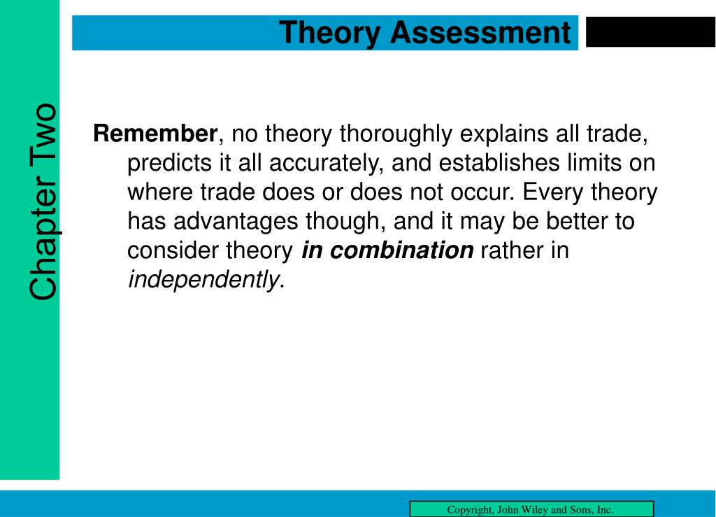 Theory Assessment