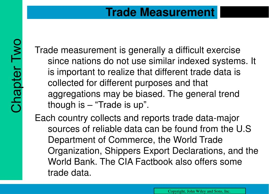 Trade Measurement