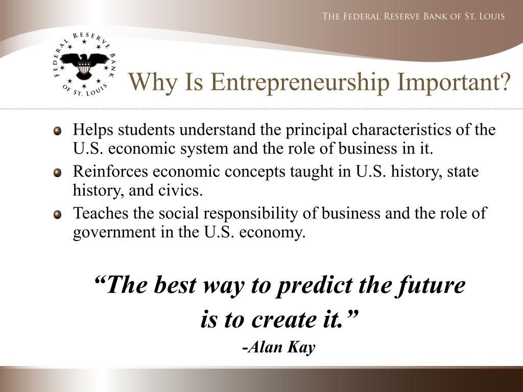 Entrepreneurship - PowerPoint PPT Presentation