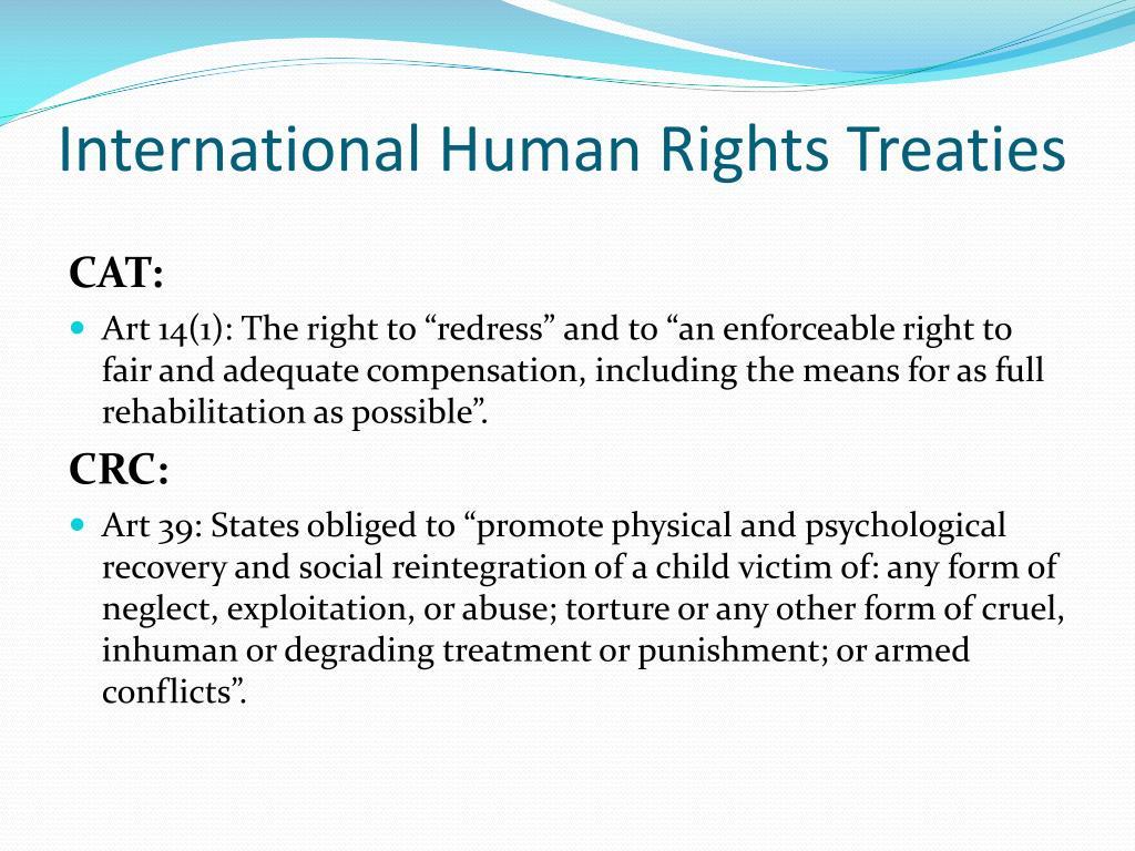 International Human Rights Treaties