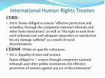 international human rights treaties7