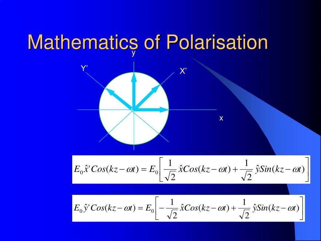 Mathematics of Polarisation