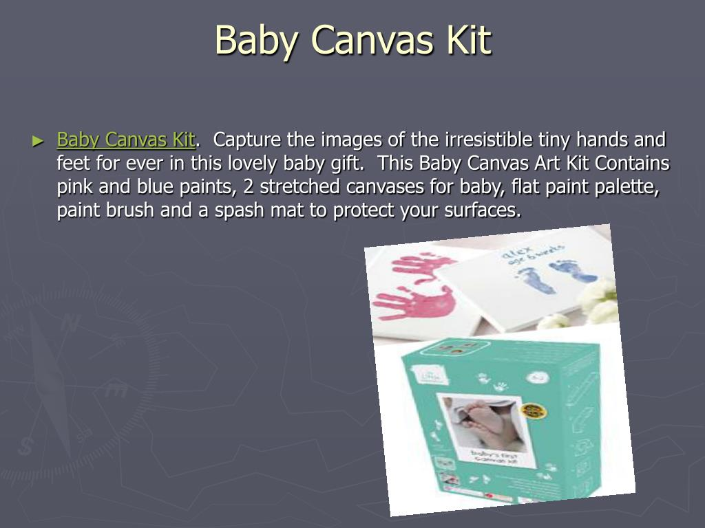 Baby Canvas Kit