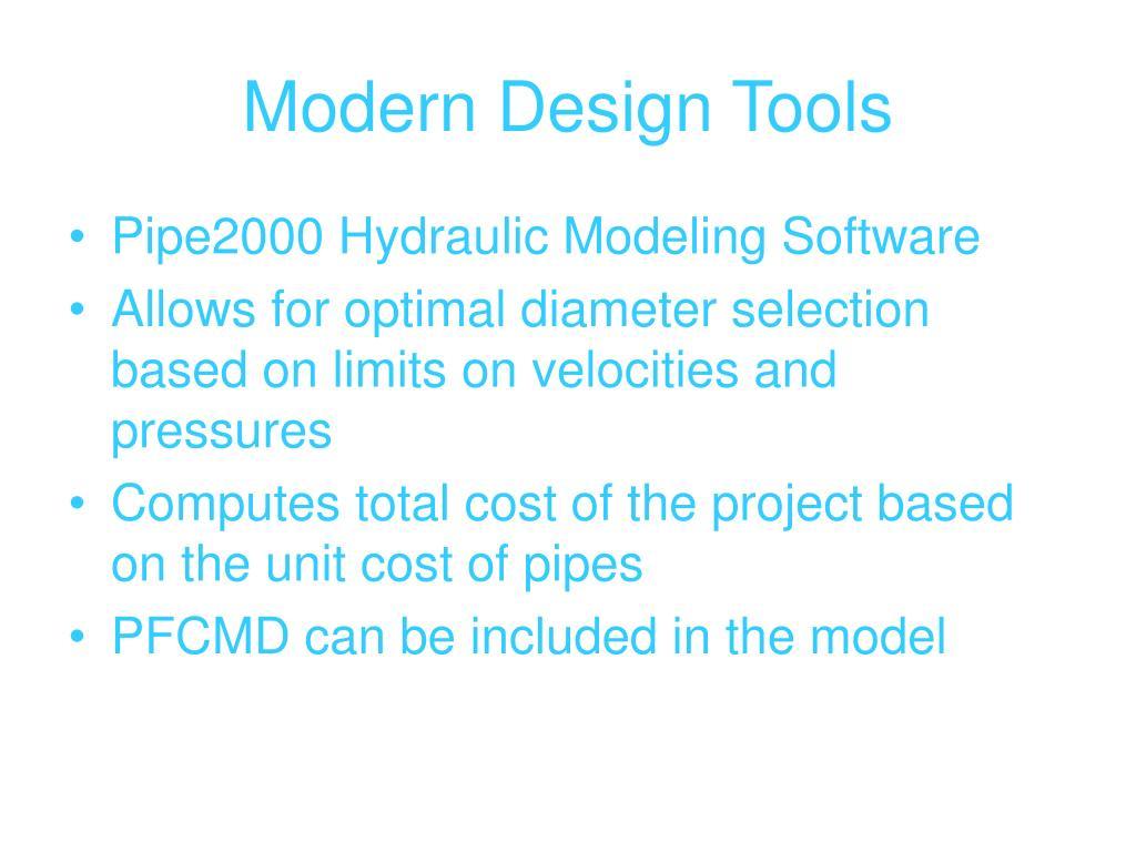 Modern Design Tools